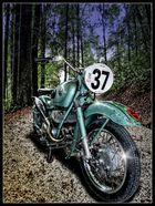 historisches Motorrad