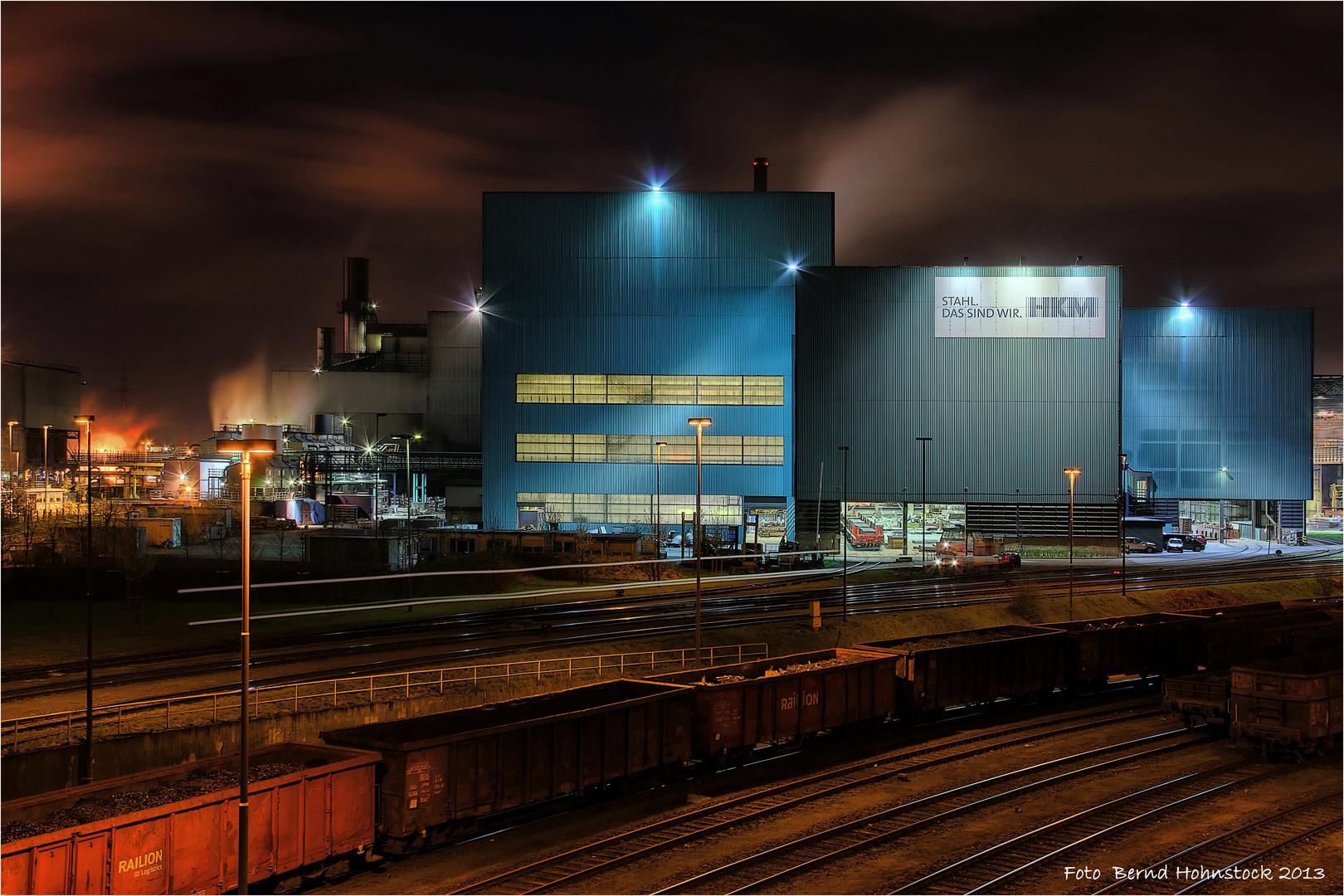 HKM Duisburg ... Abstich