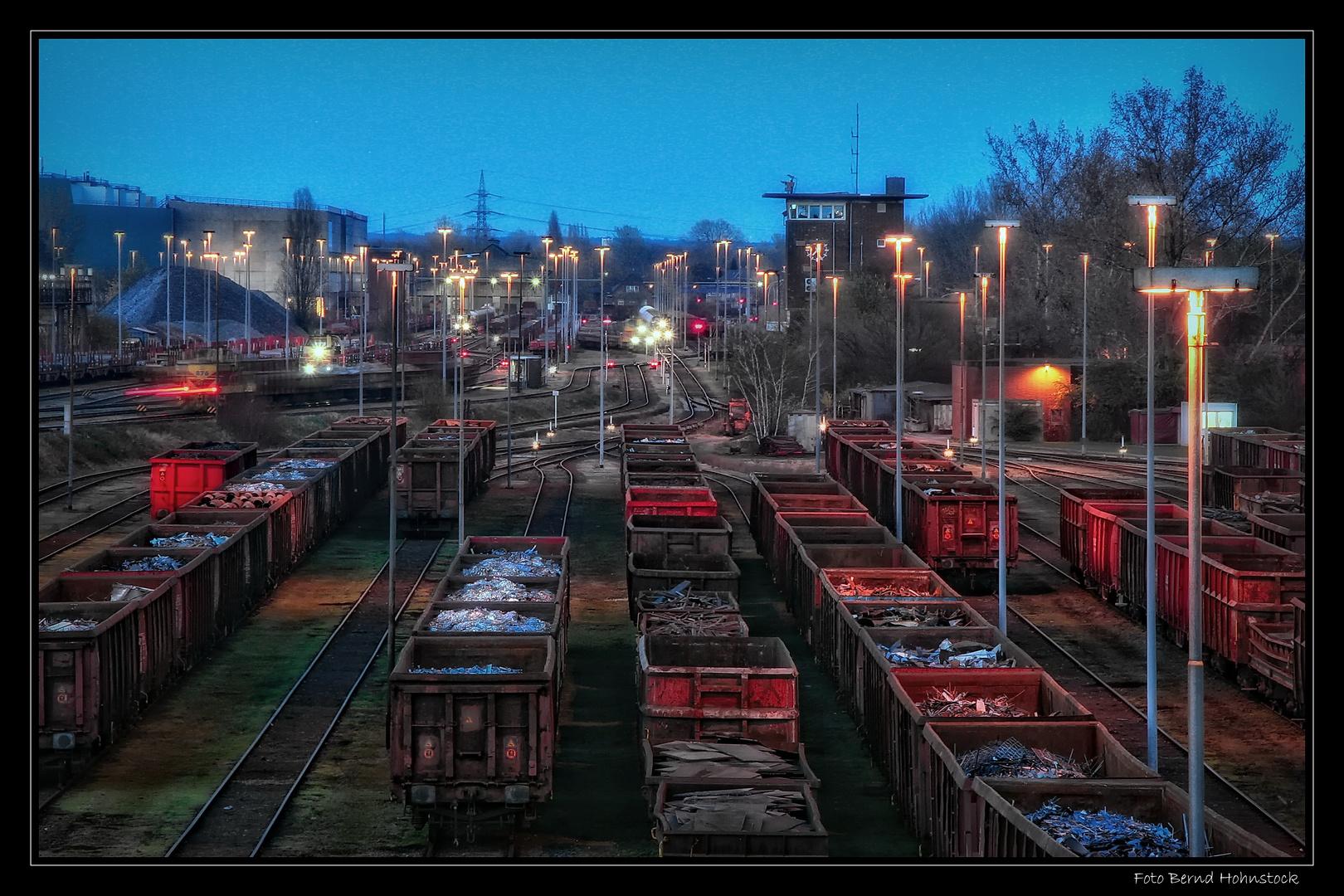 HKM Güterbahnhof ....