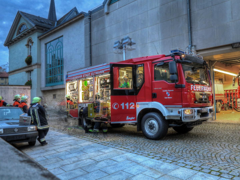 HLF Feuerwehr Stadt Eltmann