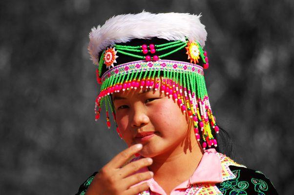 Hmong Girl, North Laos
