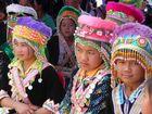 Hmong Mädchen