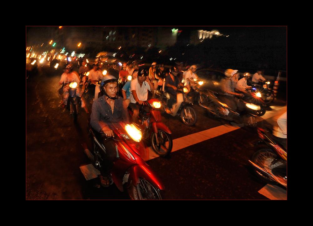 Ho-Chi-Minh-City und seine Motorradschwärme