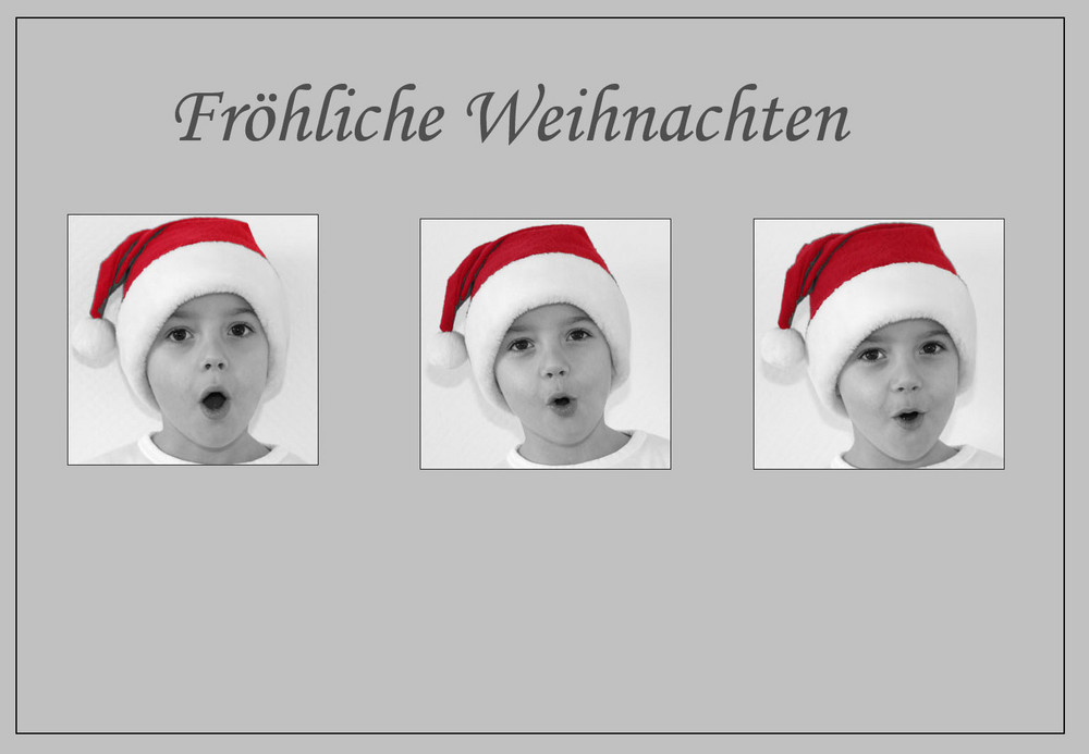 ho, ho, ho...fröhliche Weihnachten