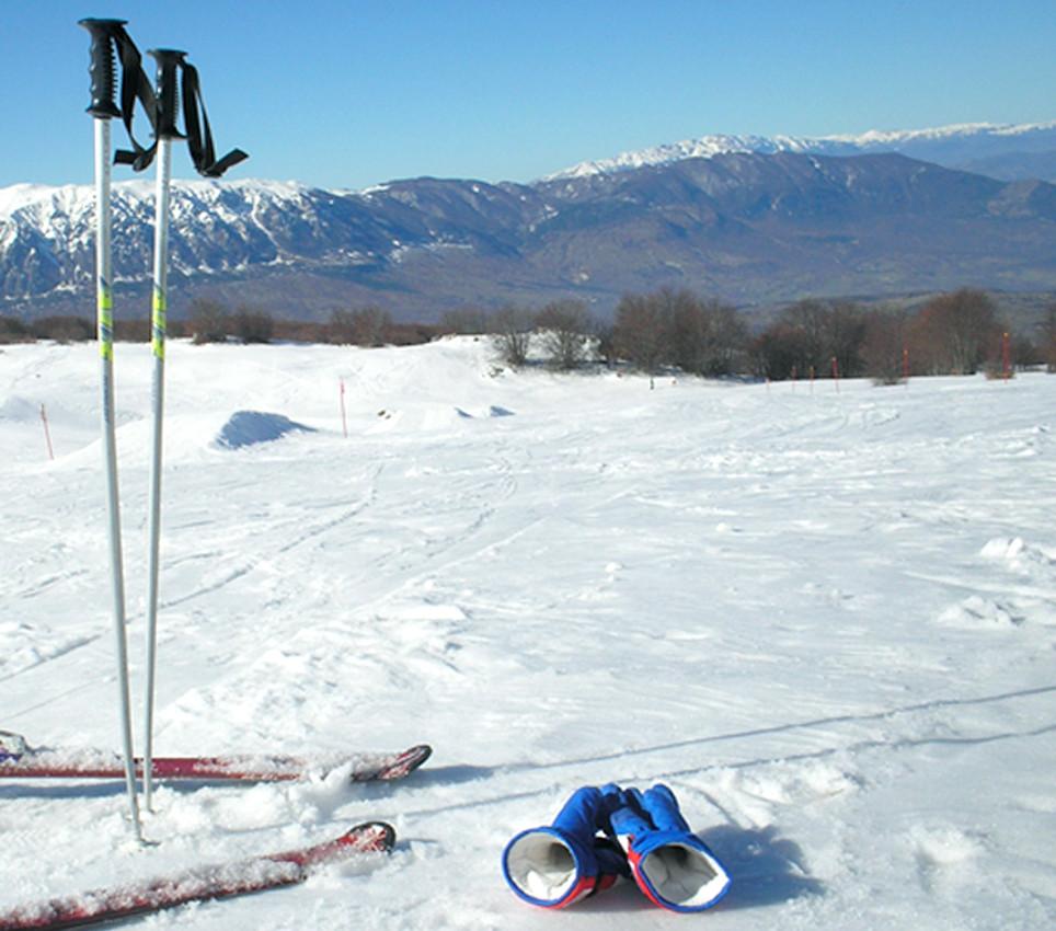 Ho imparato a sciare!!!