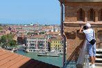 ....hoch oben über Venedig...