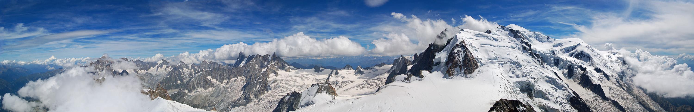 hoch über Chamonix