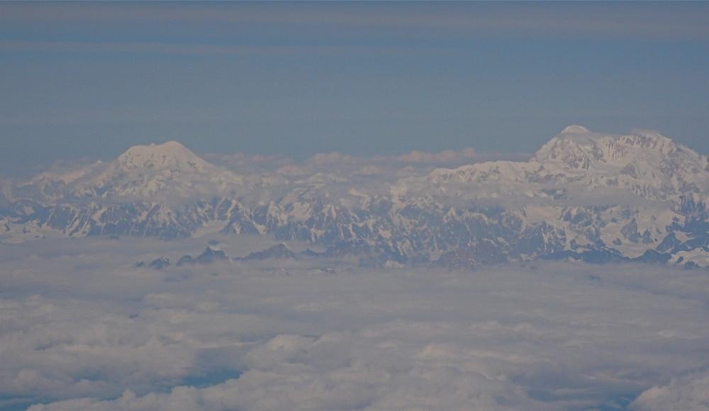 Hoch über den Wolken (ca.9000 MüM)