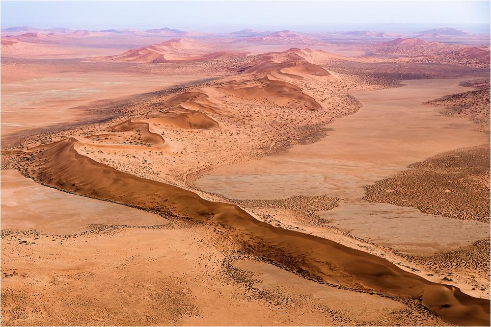 Hoch über der Namib