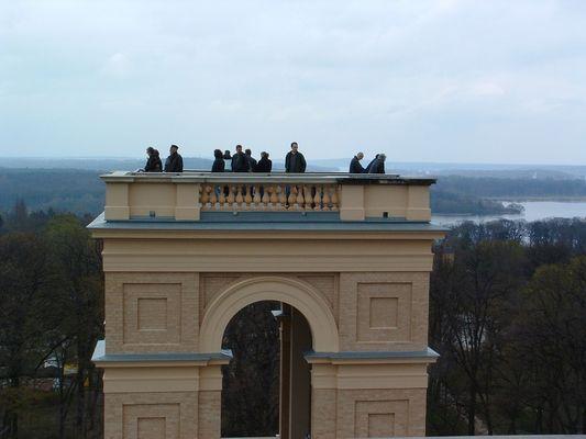 Hoch über Potsdam