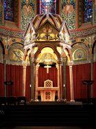 Hochaltar der Abteikirche der Benediktinerabtei Maria Laach