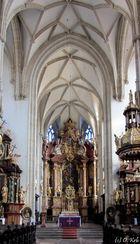 Hochaltar der Piaristenkirche (Frauenbergkirche)...