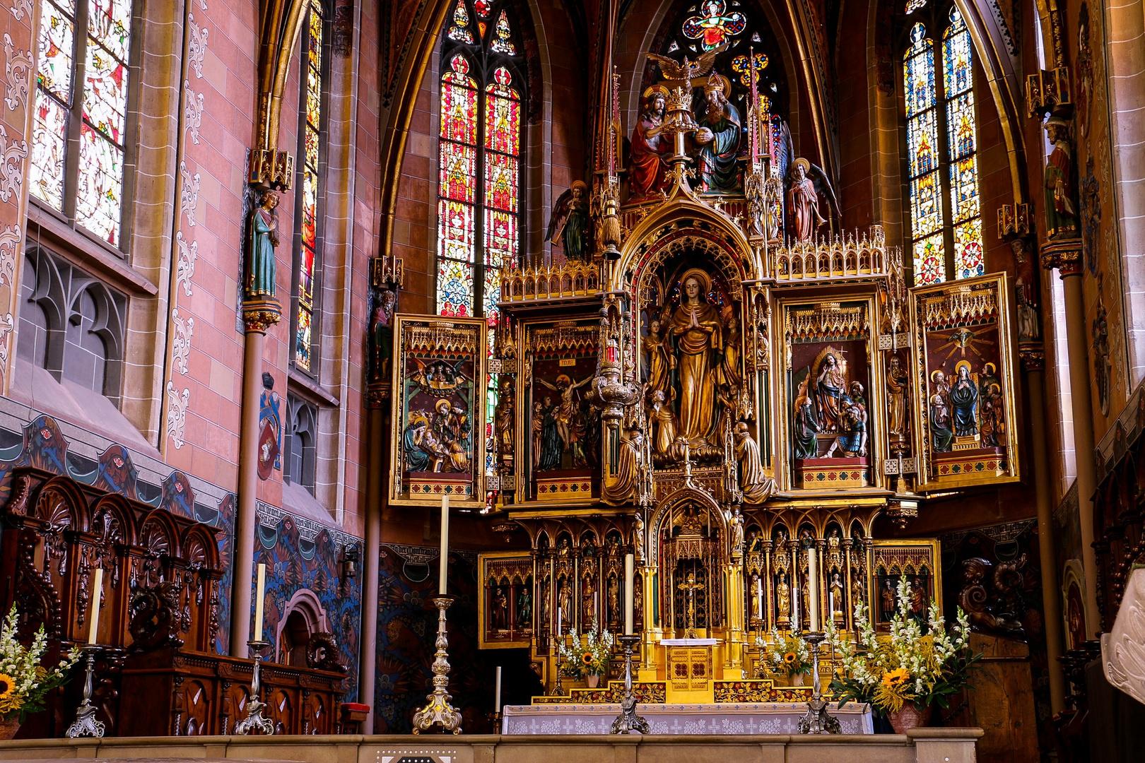 Hochaltar im Münster Villingen