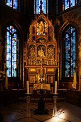 Hochaltar in der Marien Basilika