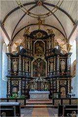 Hochaltar Klosterkirche St. Peter und Paul Hadmersleben