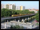 Hochbahn im Stadtbild