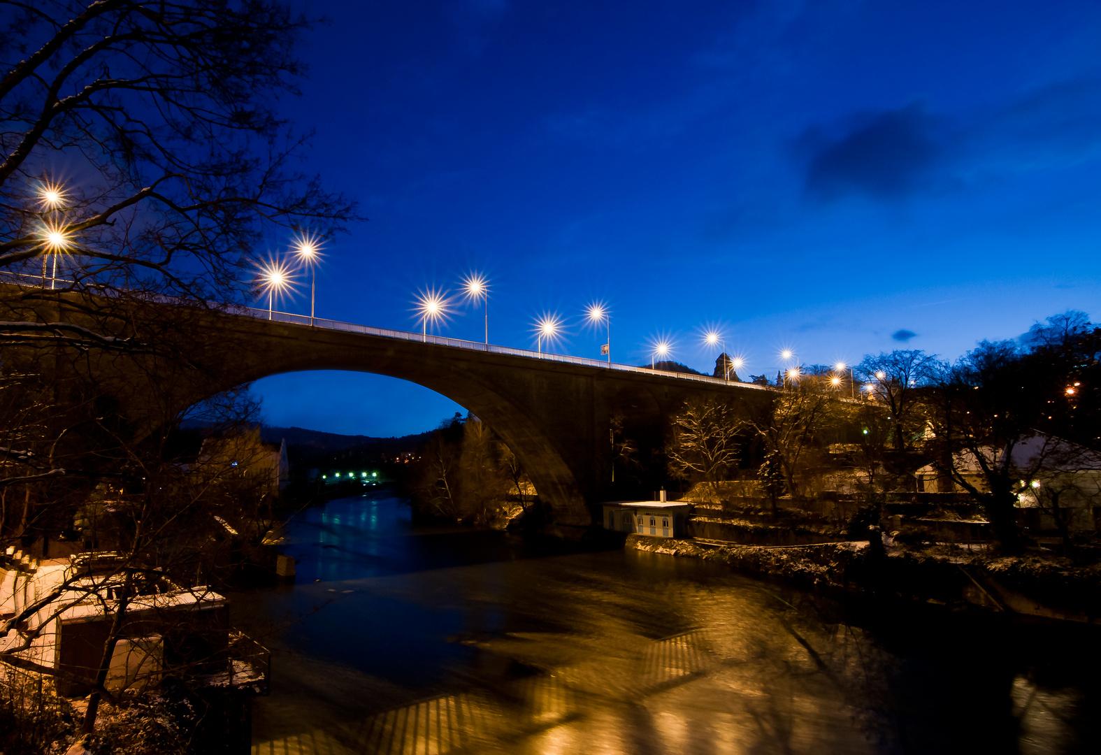 Hochbrücke in Baden AG