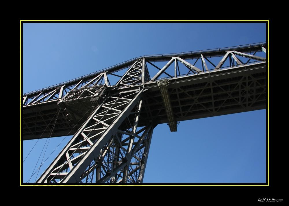 Hochbrücke in Rendsburg - details
