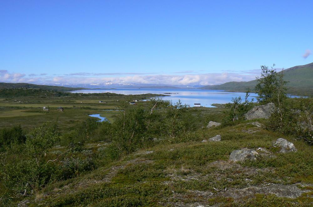 Hochebene am Padjelantaleden in Nordschweden