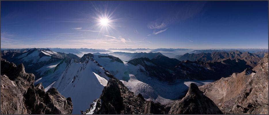 Hochfeilerblick von 3510m