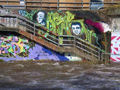 Hochgenuß auf der Dreisam - viel Wasser & Kunst