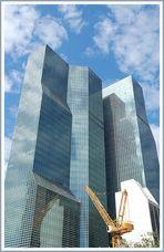 Hochhäuser in New York...