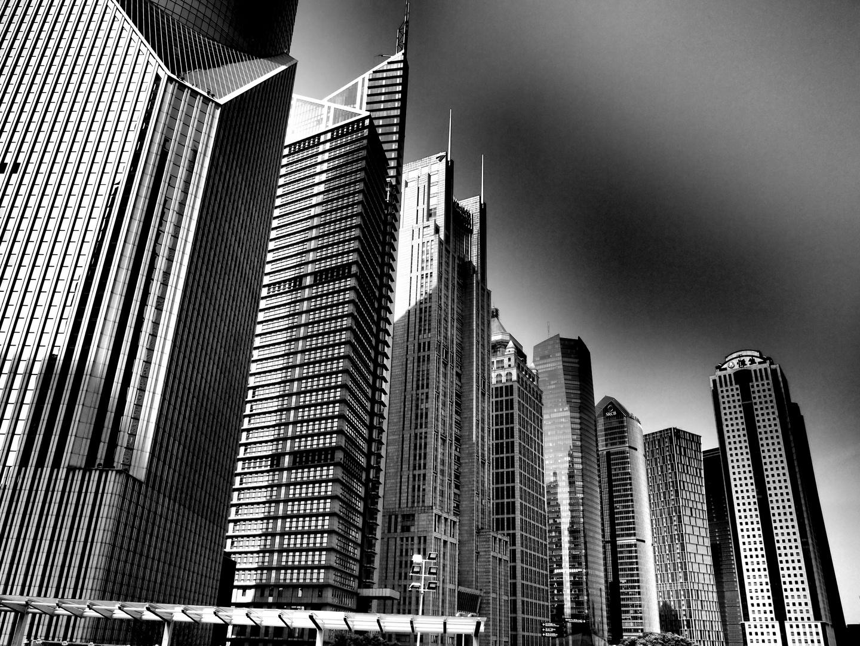 Hochhäuser Shanghai