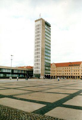 Hochhaus in der Innenstadt