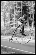Hochrad-Rennen