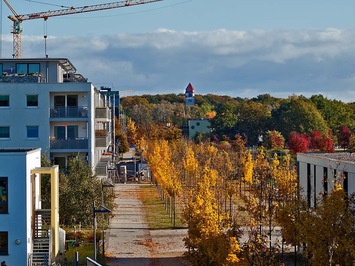Hochschulstadtteil Luebeck im Herbst