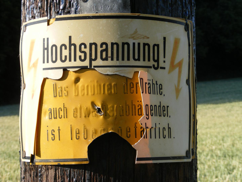 Hochspannung (: