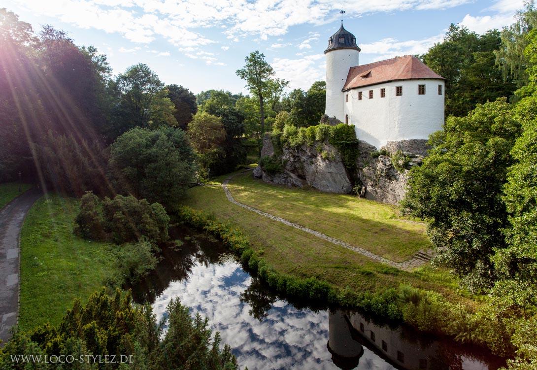 Hochstativ Fotografie, Hochbild, Burg Rabenstein