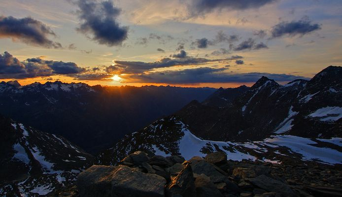 Hochstubai Sunset