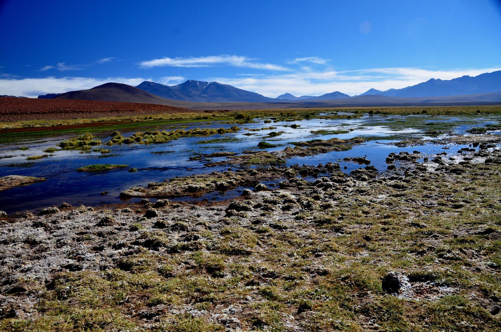 Hochtal in den chilenischen Anden