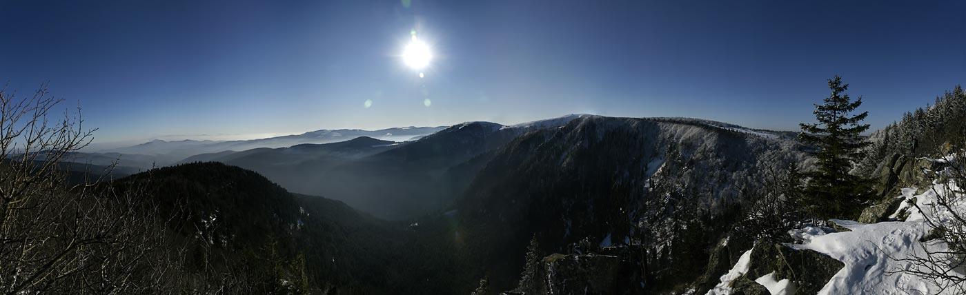 Hochvogesen zwischen Col del Schlucht und Hohneck