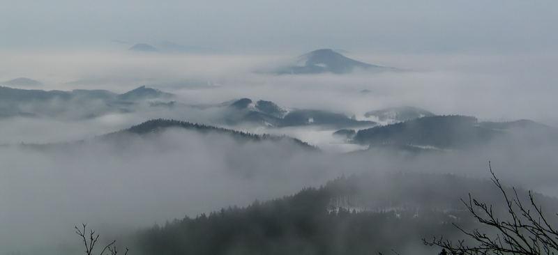 Hochwald im Zittauergebirge