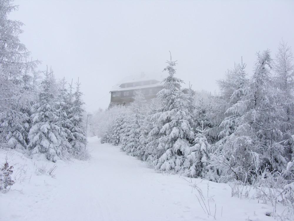 Hochwaldbaude im Naturpark Zittauer Gebirge
