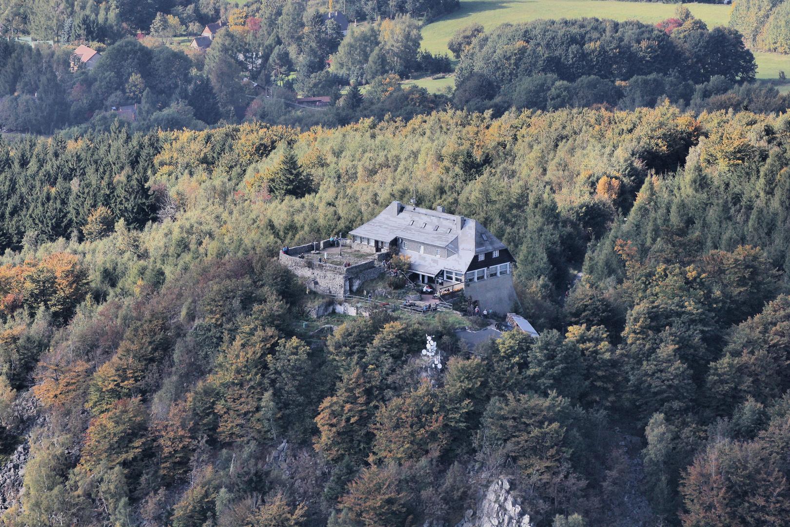 Hochwaldbaude im Zittauer Gebirge