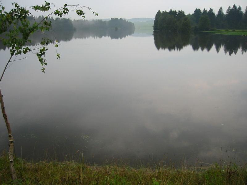 Hochwasser 0805 - Das Schönste zum Schluss: Hier gabs noch nie einen See...