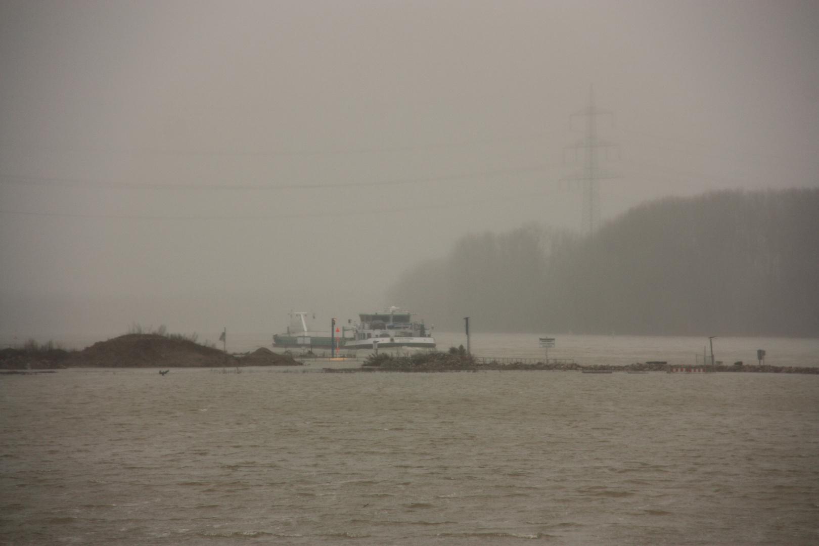 Hochwasser 2 ... Weltuntergangsstimmung ... 4.2.13