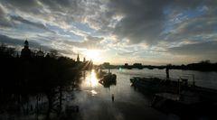 Hochwasser am Abend 3