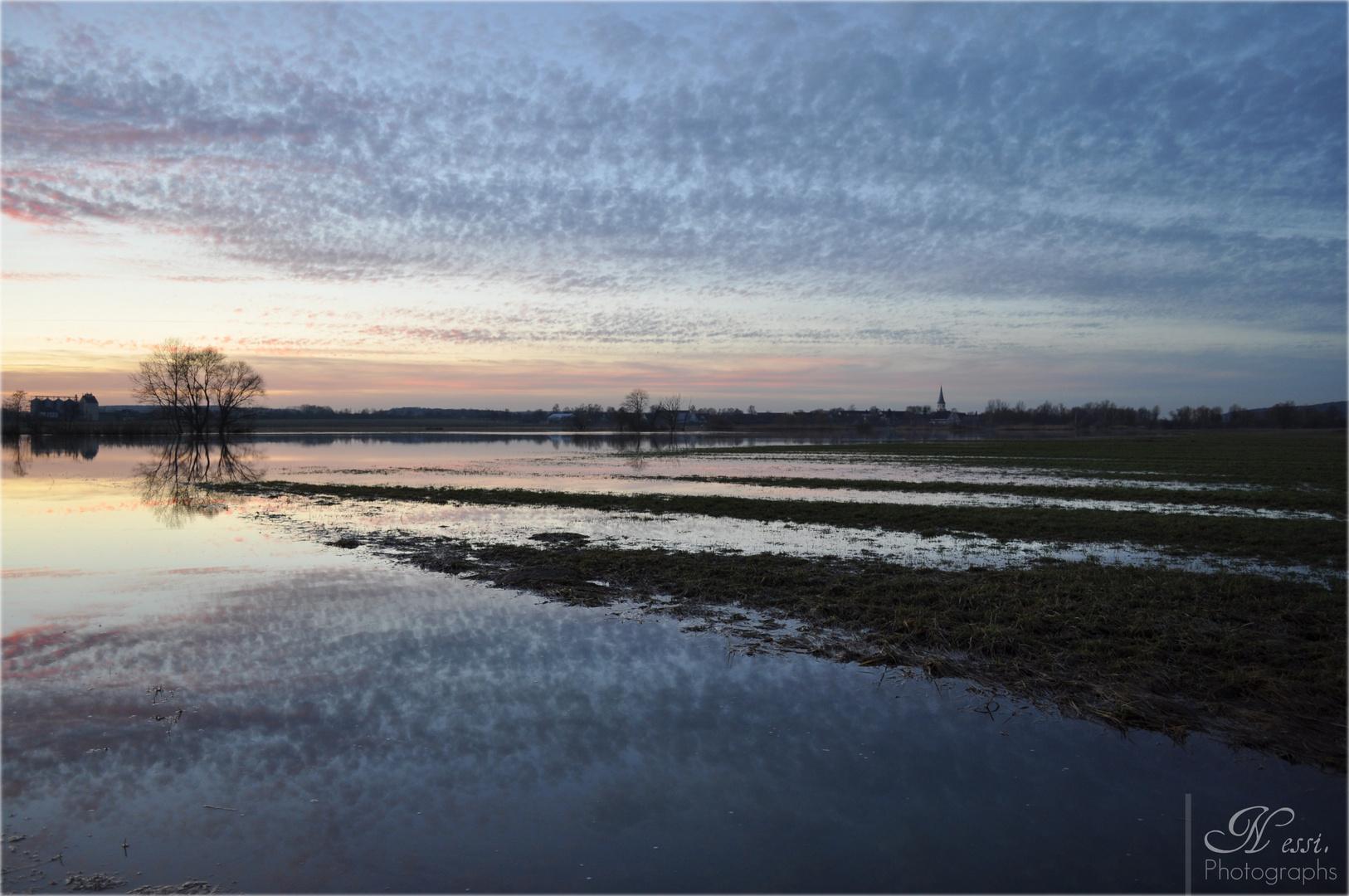 Hochwasser an der Altmühl 2