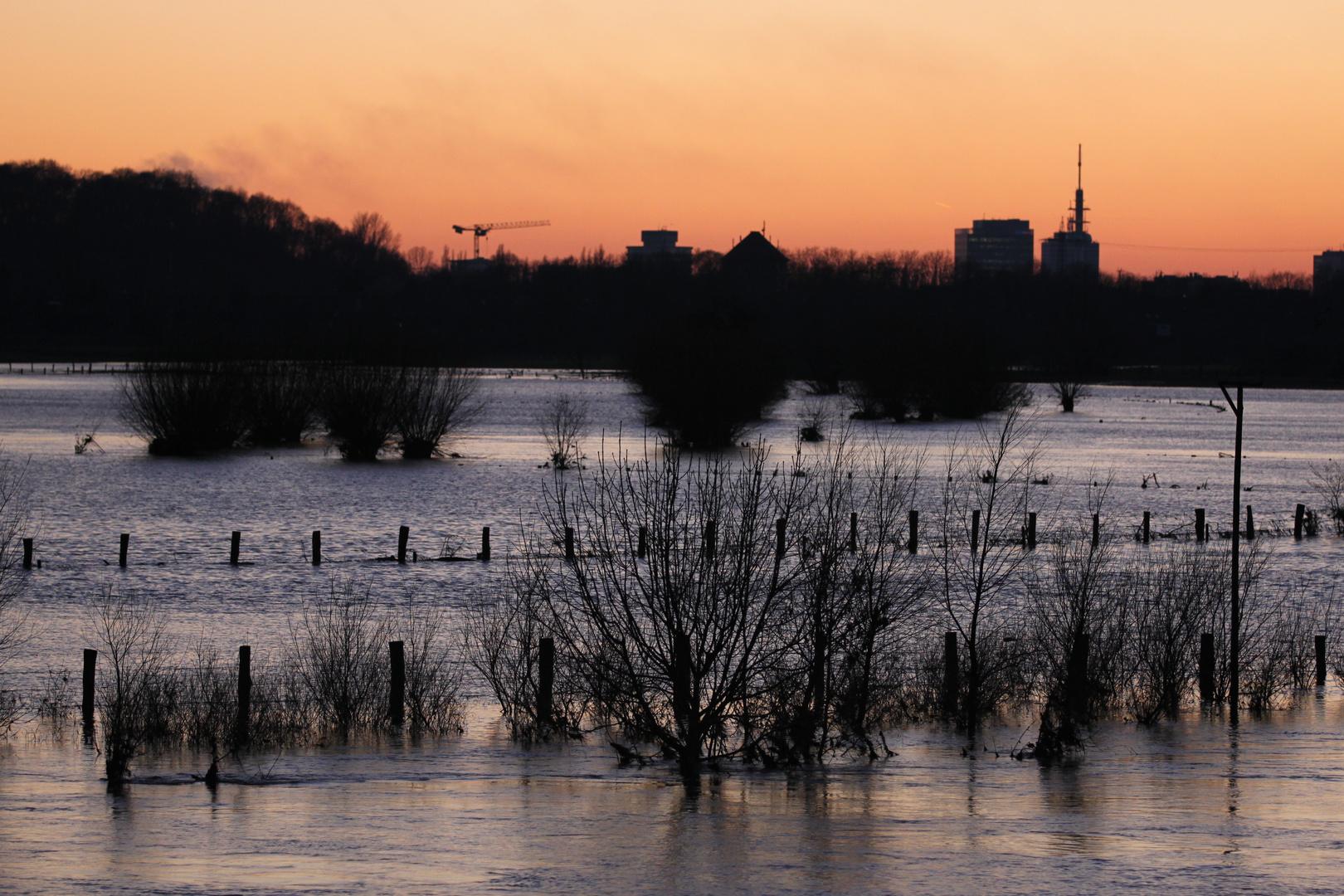 Hochwasser an der Ruhr