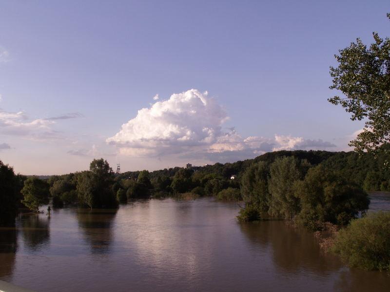 Hochwasser an der Ruhr...