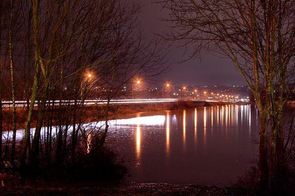 Hochwasser an der Westspange