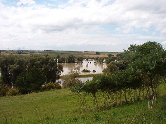 Hochwasser bei Kehlheim 2