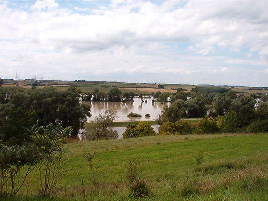 Hochwasser bei Kehlheim