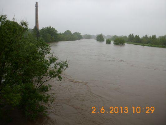Hochwasser der Zschopau