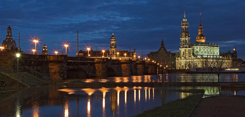 Hochwasser Dresden April 2006