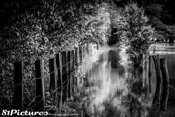 Hochwasser in Bordenau